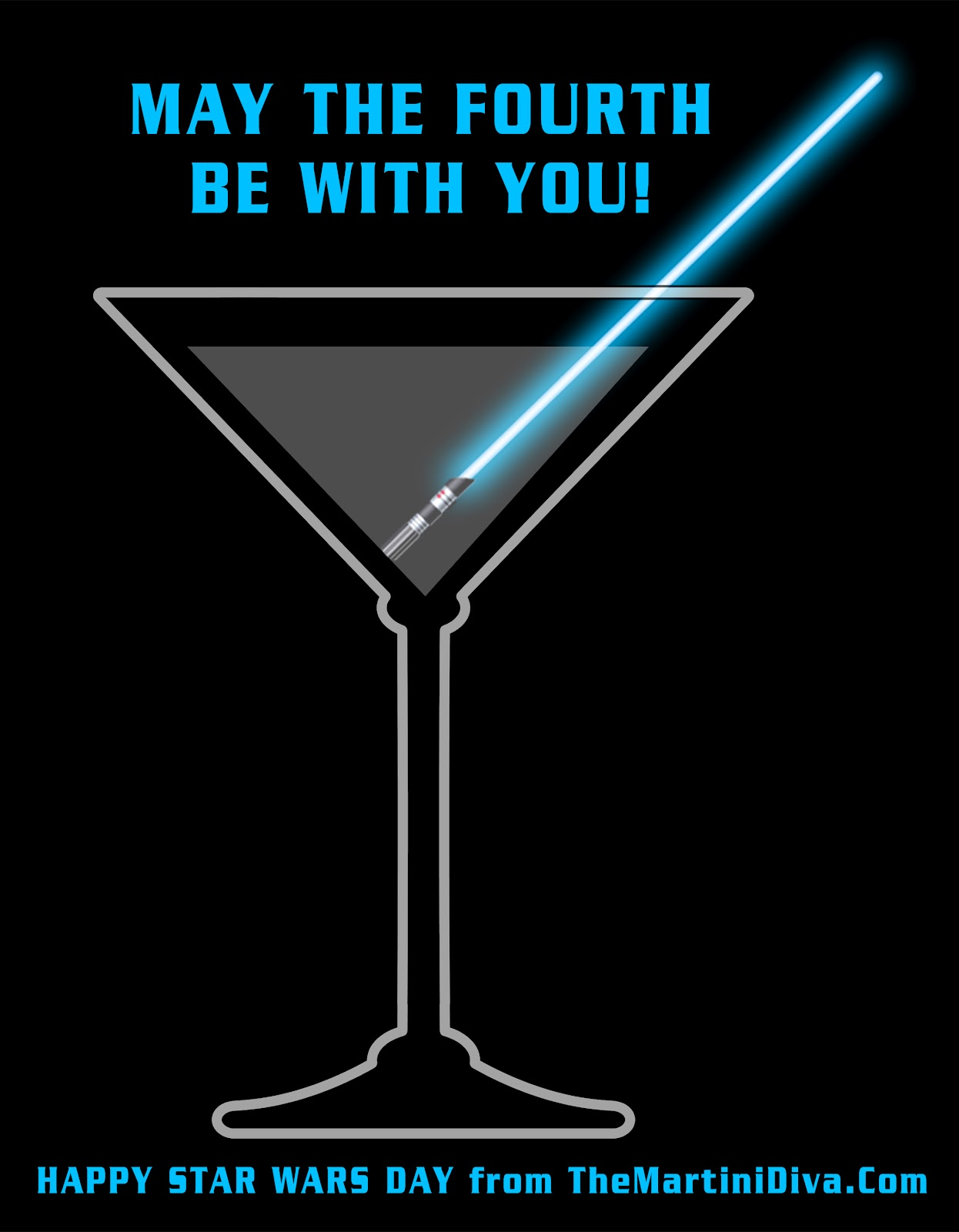 Star Wars Day - May Fourth Be With You Graphic